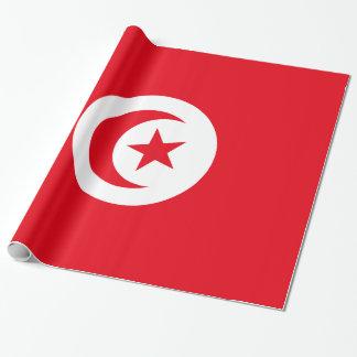 Bandera de Túnez Papel De Regalo