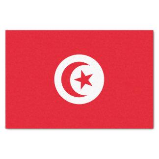 Bandera de Túnez Papel De Seda