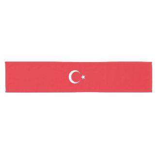 Bandera de Turquía Camino De Mesa Corto