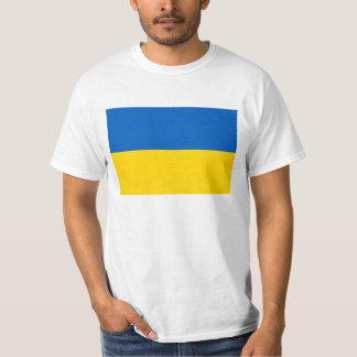 Bandera de Ucrania - bandera ucraniana - Camiseta