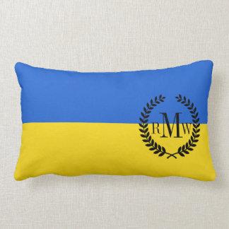 Bandera de Ucrania Cojín Lumbar