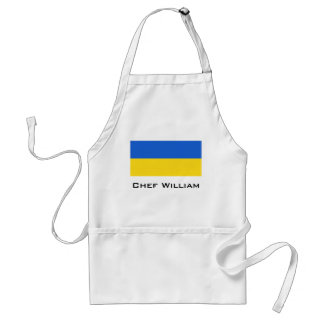 Bandera de Ucrania Delantal