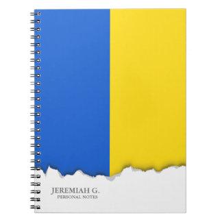 Bandera de Ucrania Libreta