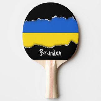 Bandera de Ucrania Pala De Ping Pong