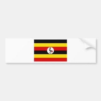 Bandera de Uganda Pegatina Para Coche