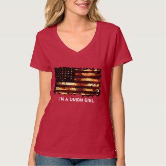 Bandera de unión, guerra civil, barras y camisas