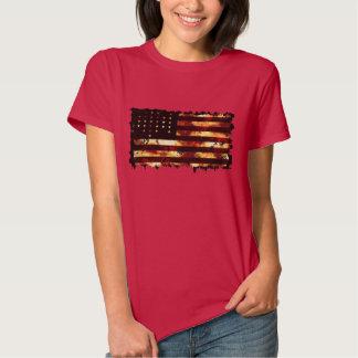 Bandera de unión, guerra civil, barras y camiseta