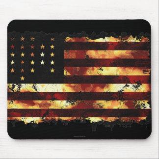 Bandera de unión, guerra civil, barras y estrellas tapete de ratón