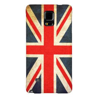 Bandera de Union Jack Británicos del vintage