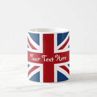 Bandera de Union Jack Británicos Taza De Café
