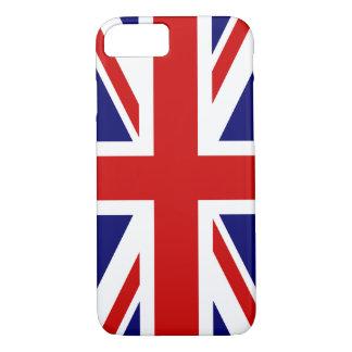 Bandera de Union Jack del Reino Unido Funda iPhone 7