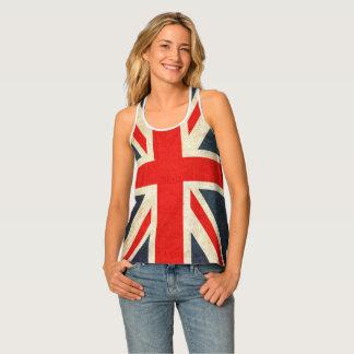 Bandera de Union Jack por todo las camisetas sin
