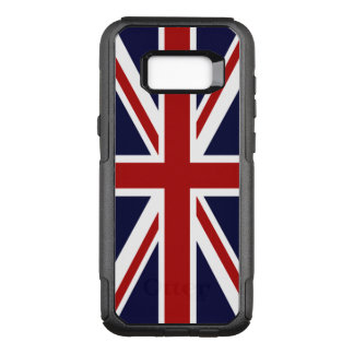Bandera de Union Jack Reino Unido Funda Otterbox Commuter Para Samsung Galaxy S8+