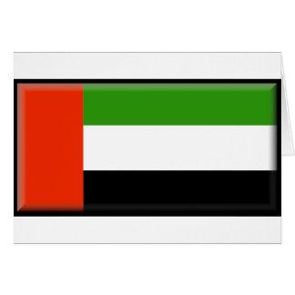 Bandera de United Arab Emirates Felicitaciones