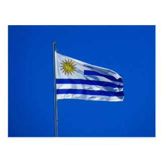 bandera de Uruguay Postal
