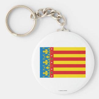 Bandera de Valencia Llavero Personalizado