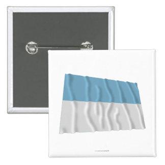 Bandera de Valle del Cauca Waving Pins