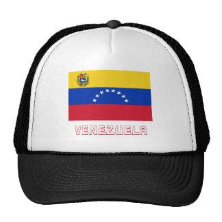 Bandera de Venezuela con nombre Gorros