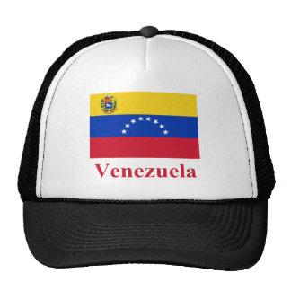 Bandera de Venezuela con nombre Gorras De Camionero