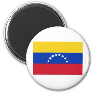 Bandera de Venezuela Imán Redondo 5 Cm