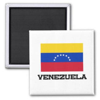 Bandera de Venezuela Imán Cuadrado