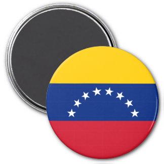 Bandera de Venezuela Imán Redondo 7 Cm