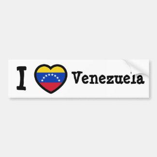 Bandera de Venezuela Pegatina Para Coche