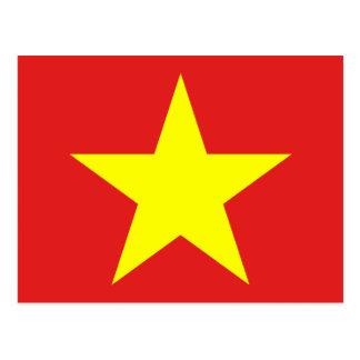 Bandera de Vietnam - postales