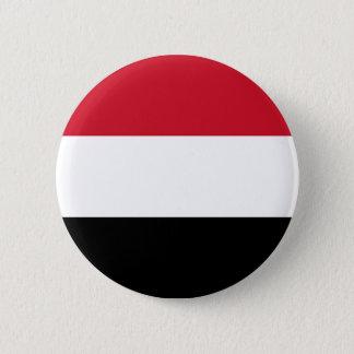 Bandera de Yemen en el Pin/la insignia del botón
