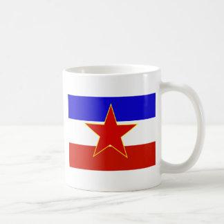 Bandera de Yugoslavia Taza De Café