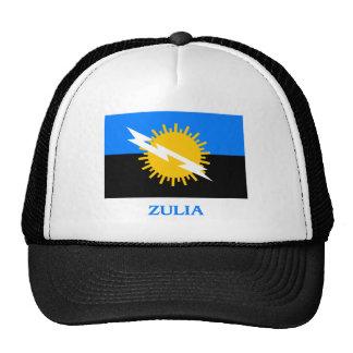 Bandera de Zulia con nombre Gorro