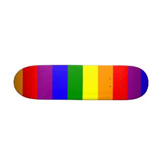 Bandera del arco iris patín