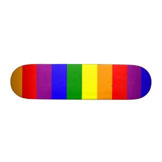 Bandera del arco iris monopatín