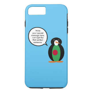 Bandera del bangladeshí del pingüino que habla funda iPhone 7 plus