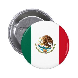 Bandera del botón de México