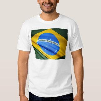 Bandera del Brasil Camisetas