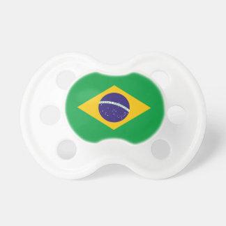 Bandera del Brasil Chupete