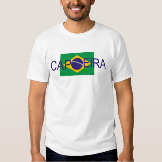 bandera del Brasil del capoeira Camisetas