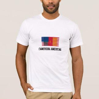 Bandera del Camerún América de la camiseta