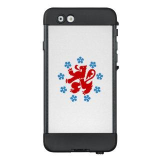 Bandera del caso alemán del iPhone de LifeProof de