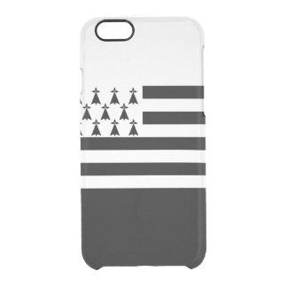 Bandera del caso claro del iPhone de Bretaña Funda Transparente Para iPhone 6/6S