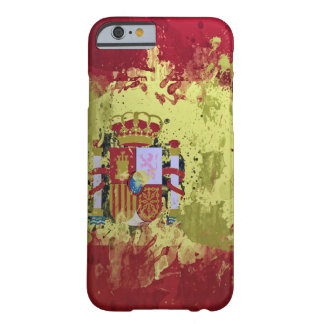 bandera del caso de España Funda Barely There iPhone 6