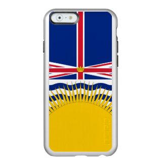 Bandera del caso de plata del iPhone de la Funda Para iPhone 6 Plus Incipio Feather Shine