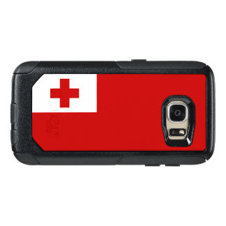 Bandera del caso de Tonga Samsung OtterBox Funda Otterbox Para Samsung Galaxy S7