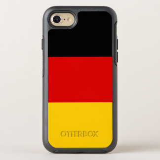 Bandera del caso del iPhone de Alemania OtterBox Funda OtterBox Symmetry Para iPhone 7