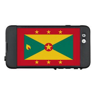 Bandera del caso del iPhone de Grenada LifeProof