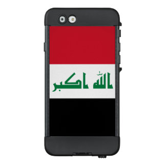 Bandera del caso del iPhone de Iraq LifeProof