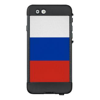 Bandera del caso del iPhone de Rusia LifeProof