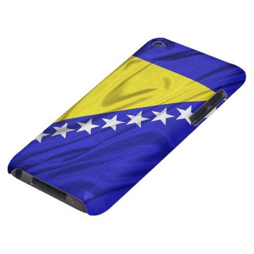 Bandera del caso del tacto de Bosnia y Herzegovina iPod Touch Case-Mate Carcasas