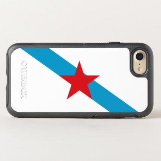 Bandera del caso gallego del iPhone de OtterBox de Funda OtterBox Symmetry Para iPhone 7